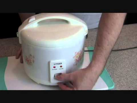 How to cook sushi rice in tiger cooker