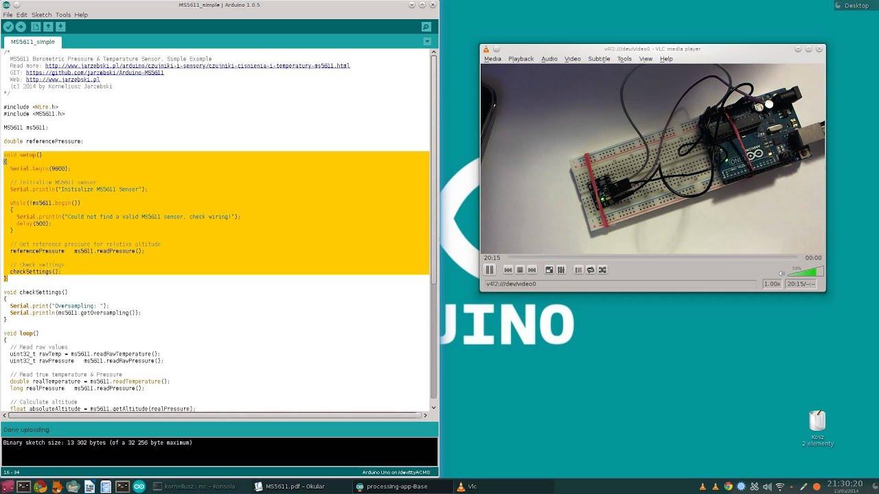 /dev/Arduino: #2 - Moduł IMU GY-86 - MS5611