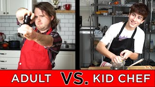 connectYoutube - Kid Professional Chef Vs. Adult Chef