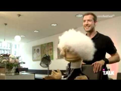 Karl beim Frisör
