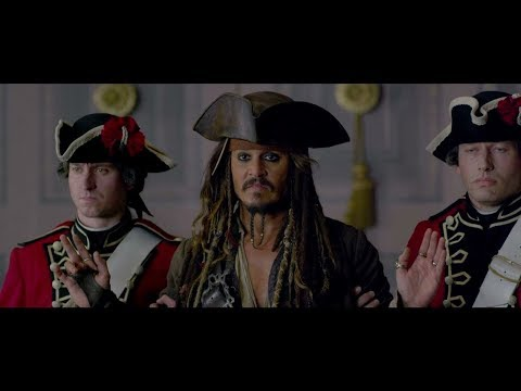 Captain Jack Sparrow Escape from British King (London)- PotC: on Stranger Tides 1080 HD