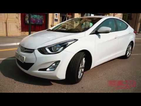 Hyundai Elantra / Rental cars in Baku from TRUST RENT company