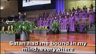 """""""Jesus Brought Me Out"""" FBCG Young Adult Choir &  Anthony Brown (Shout and Dance)"""
