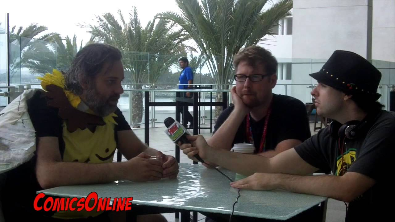 SDCC Exclusive Interview with Rick and Morty's Dan Harmon