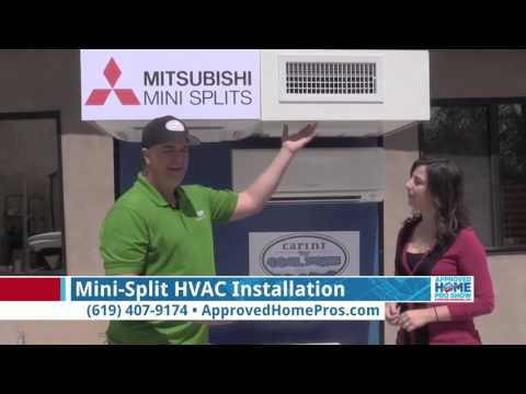 Mini-Split Installation Options - Carini Heating & Air on The Approved Home Pro Show
