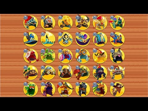 Angry Birds Epic Rpg ALL Elite Classes Max Mastery