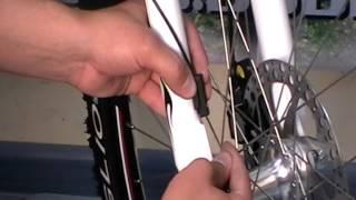 Как установить спидометр на велосипед видео