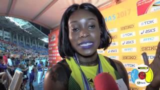 Jamaica 4x200m ladies speak after CR performance #Bahamas2017