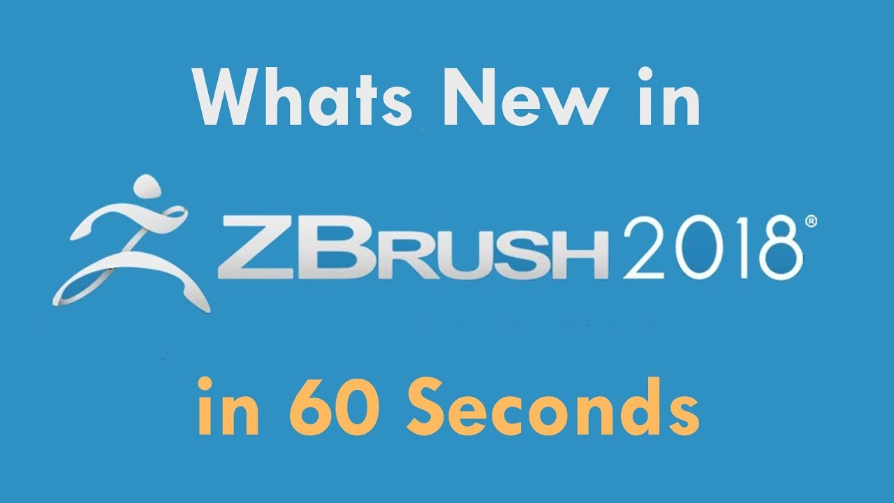 Whats New IN ZBrush 2018 in 60 Seconds - Lesterbanks