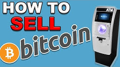 How to turn BITCOIN into CASH! THE EASY WAY!