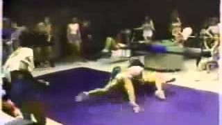 Prison Gym Catfight   Bodybuilding workouts