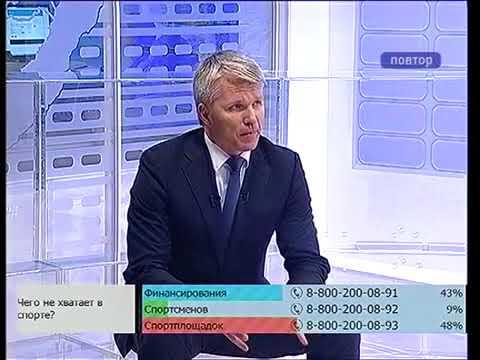 Павел Колобков в программе «В центре внимания» телеканала ОТВ (Приморье)