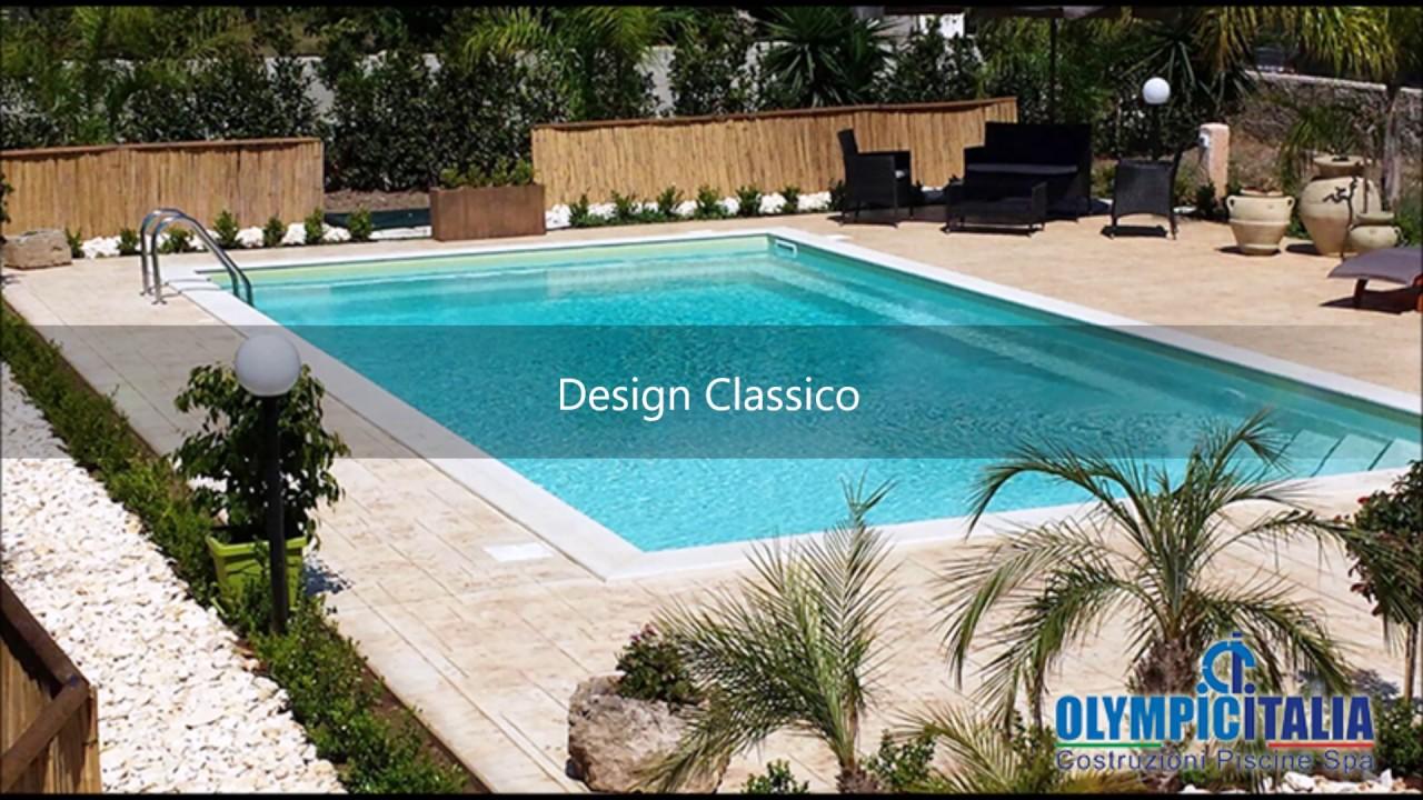 Costruzione piscina prefabbricata siracusa piscina in pannelli di acciaio  skimmer sfioratore plus
