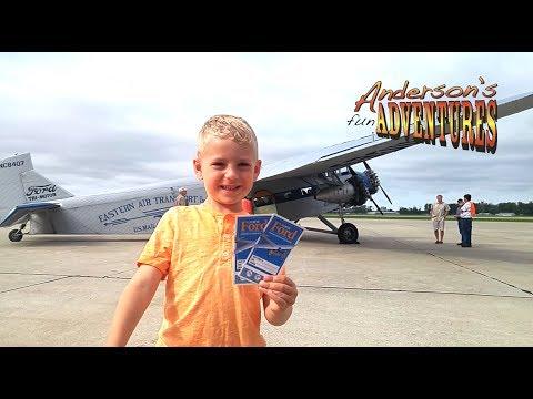 Airplane Ride Ford Tri-Motor - Anderson's Fun Adventures E11