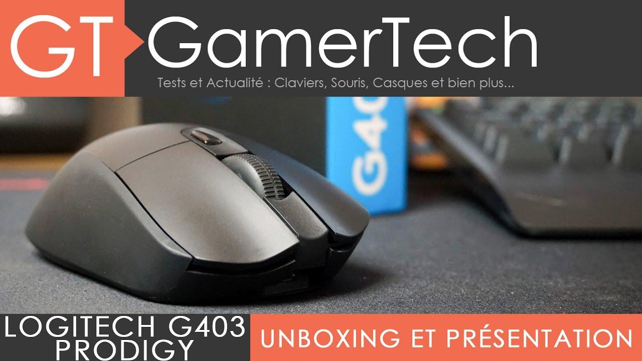 6bb1c4f9903 Logitech G403 Prodigy - Unboxing & Test [FR] - Une souris sans-fil efficace  pour le jeu ! - YouTube