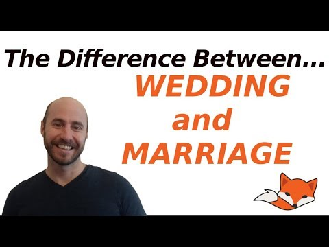 What S The Difference Between A Wedding And Marriage