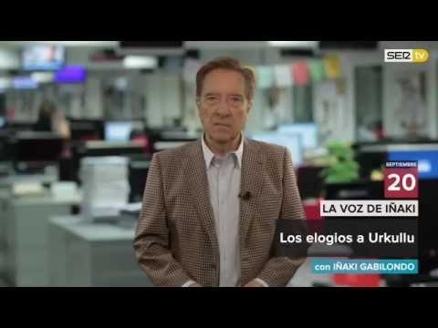 Los elogios a Urkullu (Videoblog 'La Voz de Iñaki')