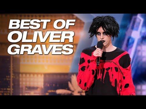 Best Of Oliver Graves On Season 13 Of AGT - America's Got Talent 2018