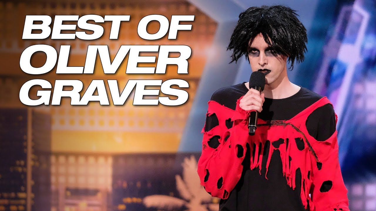 Best Of Oliver Graves On Season 13 Of AGT - America's Got Talent 2018