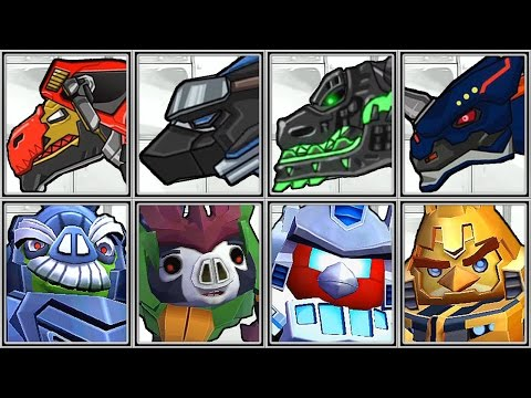 Transformers Hasbro Angry Birds Telepods APP Game iOs Android Grimlock Loose