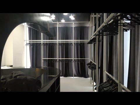 гардеробные системы алюминий