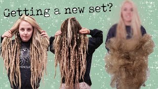 Download 😭REMOVING MY 3 YEAR OLD DREADS (it took 5 days) Mp3 and Videos