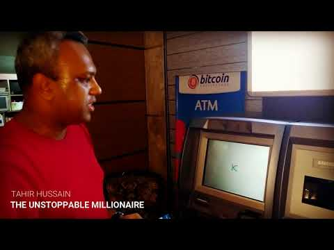Bitcoin ATM Machine At Makati Philippines With The Unstoppable Millionaire Tahir Hussain