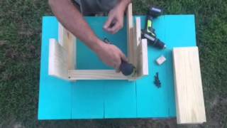 DIY child's step stool