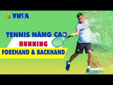 Kỹ Thuật Tennis Nâng Cao - Running Forehand Backhand