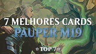 [MTG] 7 Melhores Cards Pauper De M19 (com Umotivo, Pauper View, Rakdos Cast E MagicMatters)