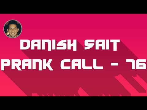 Zoo fish fed with groundnuts - Danish Sait Prank Call 76