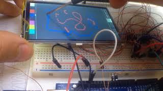 Как подключить сенсорный дисплей к Ардуино. Сенсор - это просто!