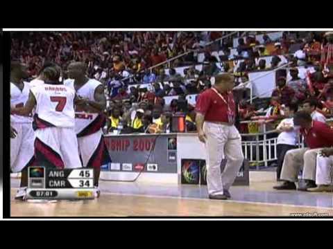 ANGOLA V CAMAROES FINAL AFROBASKET 2007)