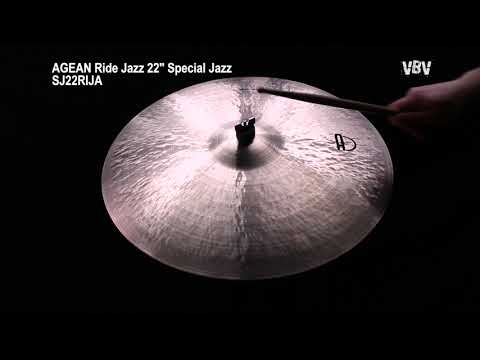 "22"" Ride Jazz Special Jazz video"