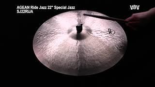 "22"" Ride Jazz Special Jazz video"