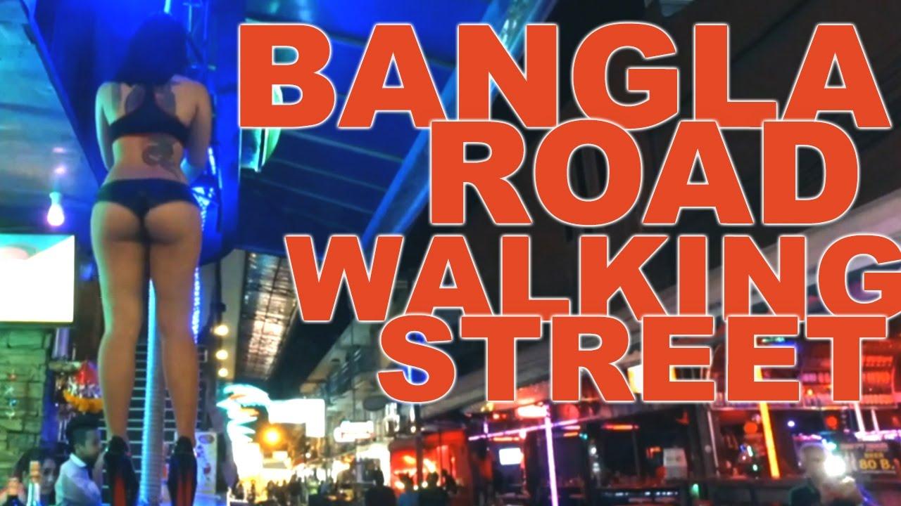 bangla road guide patong walking street phuket hd youtube. Black Bedroom Furniture Sets. Home Design Ideas