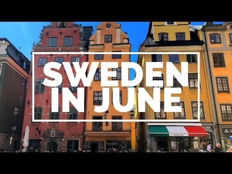 Some highlights of my visit to beautiful Sweden in June (Uppsala and Stockholm)