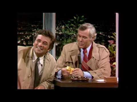 "Peter Falk on Johnny Carson Promoting ""Étude in Black"" - 9/15/72"