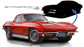 I Re-design the 1967 Corvette Stingray Into a Modern Car