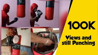 How to fill SAND BAG PUNCHING BAG using Sand Clothes and Coconut Mesocarp India Hindi