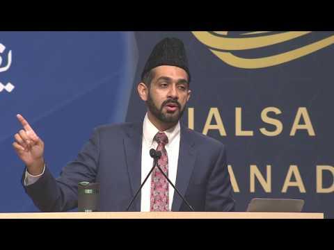 Day 3 Jalsa Salana Canada 2017, English Speech by Farhan Iqbal Ṣāḥib