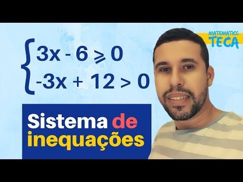 Sistema de inequação do 1º grau