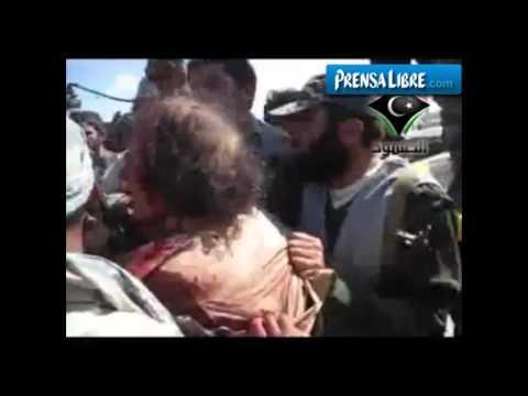 Matan a Muamar al Gadafi