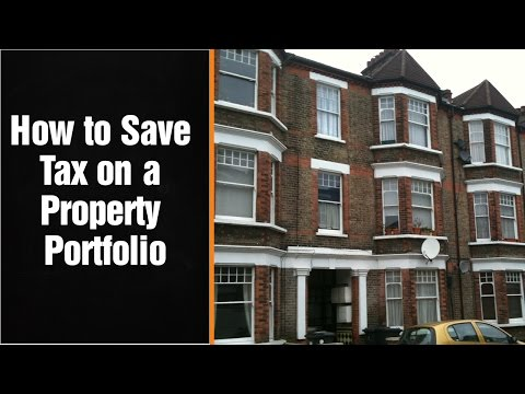 How to Save Tax on a Property Portfolio - by Award Winning London Chartered Accountant