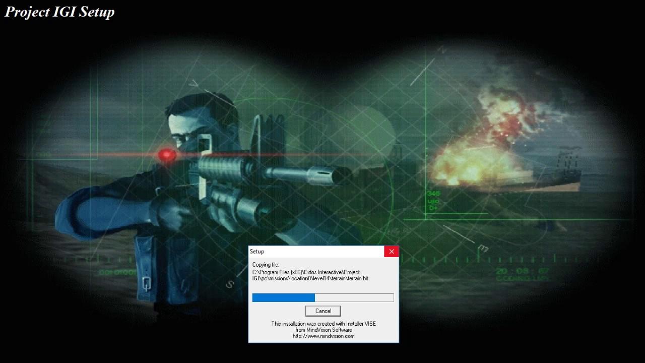 Hướng dẫn tải và cài đặt game bắn súng IGI 1 – Blog KaanIT