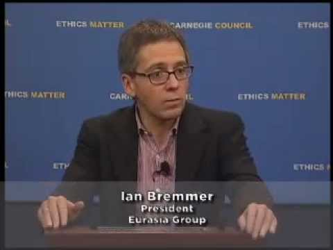 Ian Bremmer:  Would You Bet On China Or America?