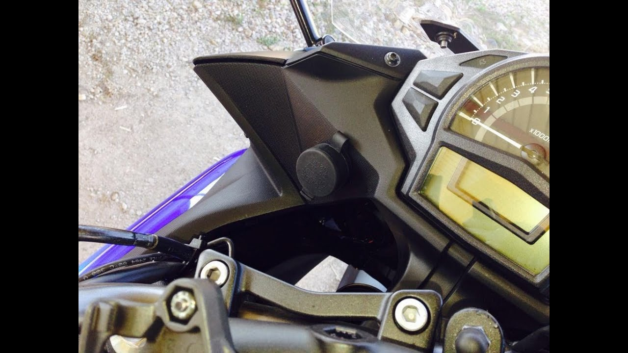 Install Electrical Outlet >> 12V Accessory Outlet install on 2013 Kawasaki Ninja 650 ...