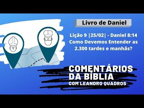 Quinta 27/02 - Como Devemos Entender As 2.300 Tardes E Manhãs De Daniel 8:14 - Leandro Quadros