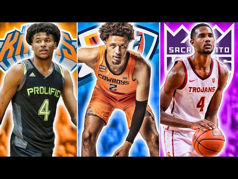 2021 NBA Mock Draft   Start Of Season Edition