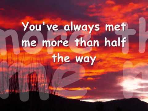 YOU NEVER GAVE UP ON ME - Crystal Gayle (Lyrics)